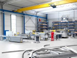 CNC Rohrbiege Maschinen im Biegezentrum