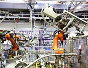 Hydraulik Rohre im Maschinenbau